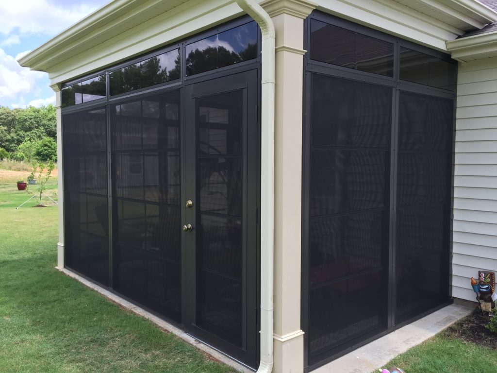 aluminum screen porch rooms Travelers Rest