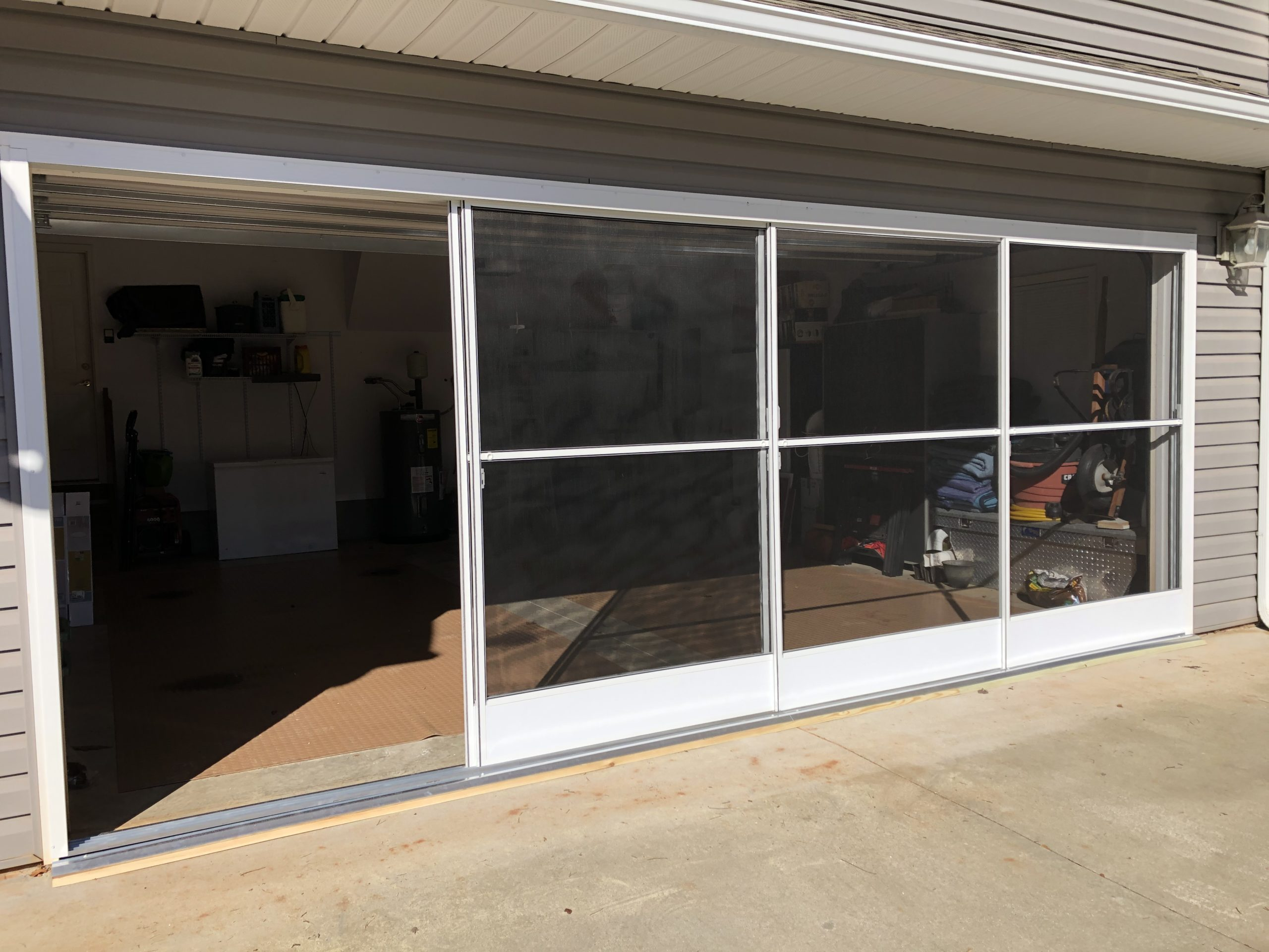 Garage Enclosure Simpsonville Anderson